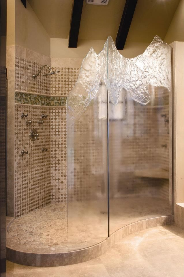 One Of A Kind Glass Shower Doors Bathroom Remodel Master Glass