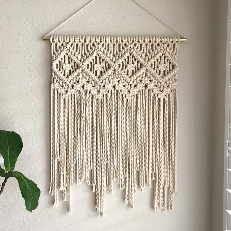Macrame Pattern - Written PDF by Elsie Goodwin/Ref