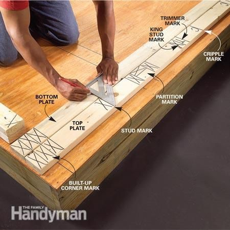 Fool Proof Wall Framing Tips For New Construction Woodworking Shop Layout Framing