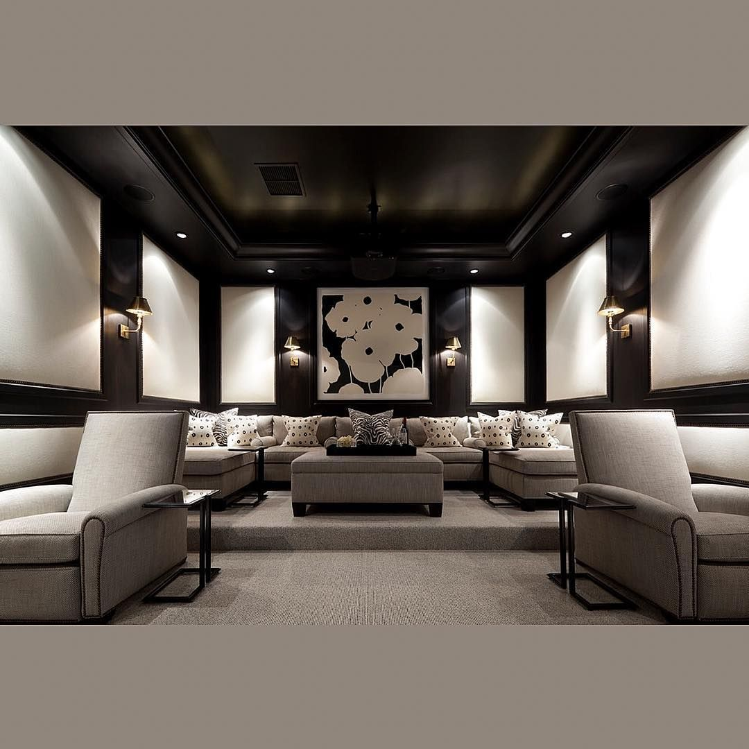 Interior Design Ideas For Home Theater: Pin By Aaran On Alluring Decor