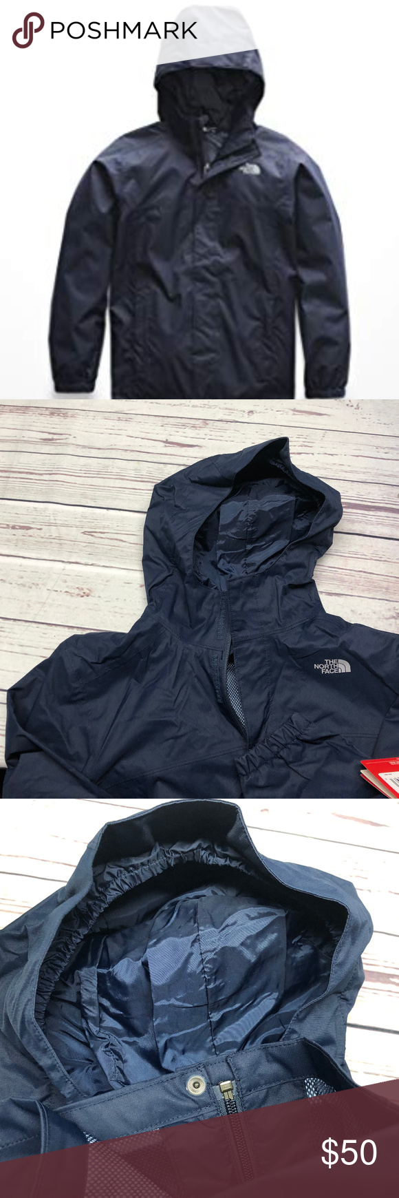 e6646cd53 The North Face Boy's Resolve Rectie Jacket new with tags boys large ...