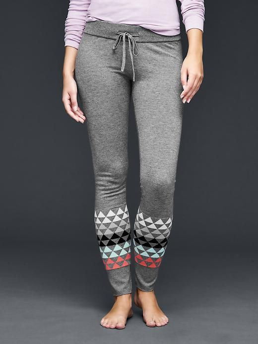 Triangle print sweater leggings | Gap | Clothing and Accessories ...
