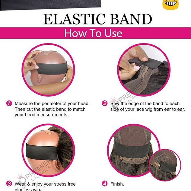 Based On Customer S Needs And Advice New Free Gift Elastic Band Will Be Sent With Every Purchase From Now On Just To Make You Wear Your Wig More Natural And