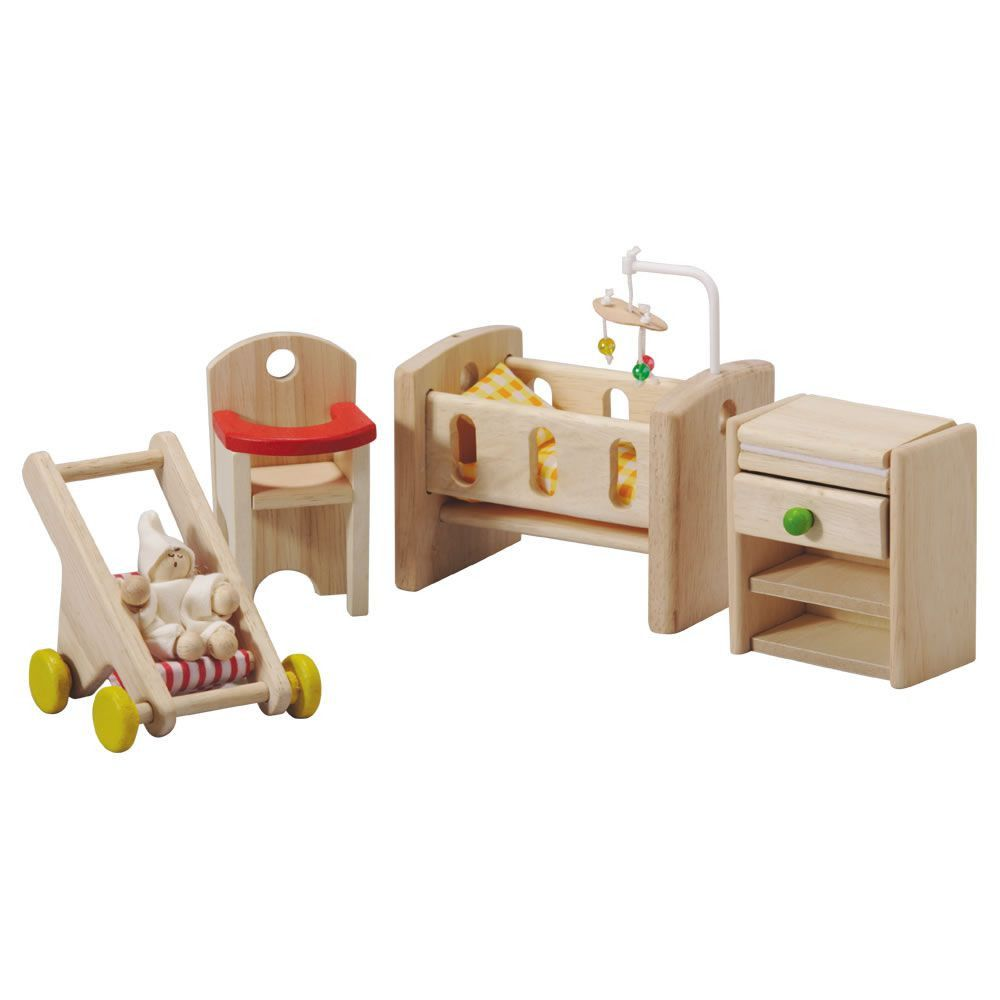 dollhouse nursery set | gift ideas | wooden dollhouse, plan