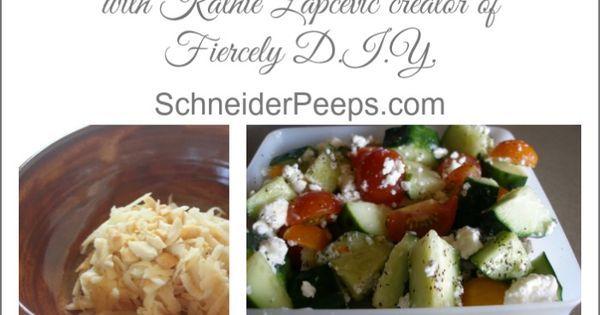 Summer Salads - https://www.pinterest.com/pin/413275703282737606/