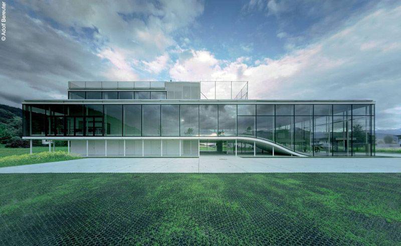 Office Building Klaus, Vorarlberg, Austria Oskar Leo