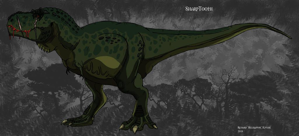 Land Before Time: SharpTooth by HellraptorStudios | Matthew Miller