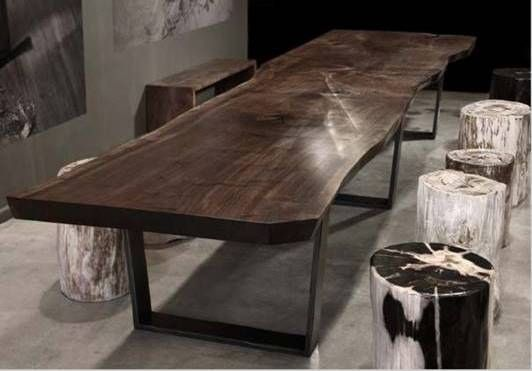 Indonesian Furniture Iffina 2012 Slab Dining Tables Dinner Tables Furniture Hudson Furniture