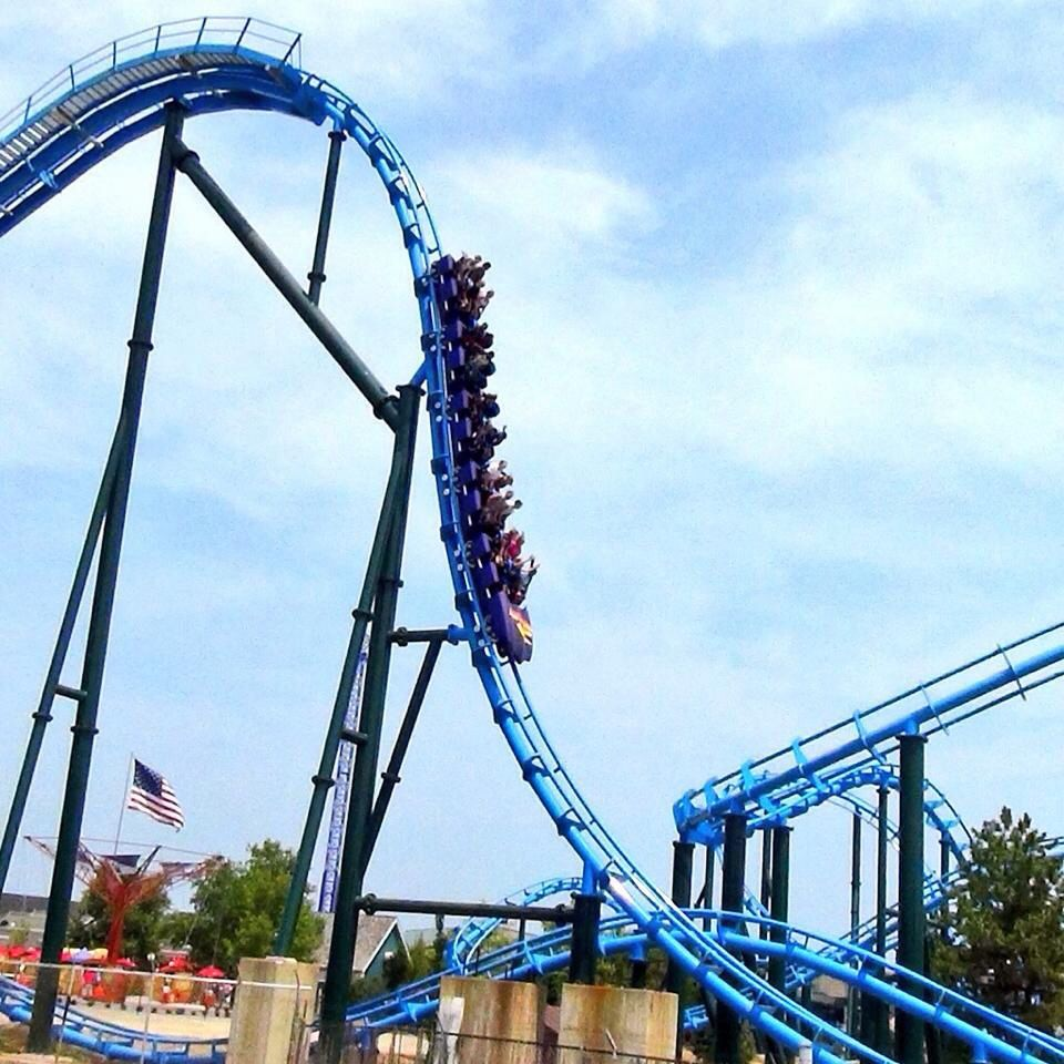 Kentucky Kingdom opens April 30 with new Storm Chaser ... |Kentucky Kingdom Water Roller Coaster