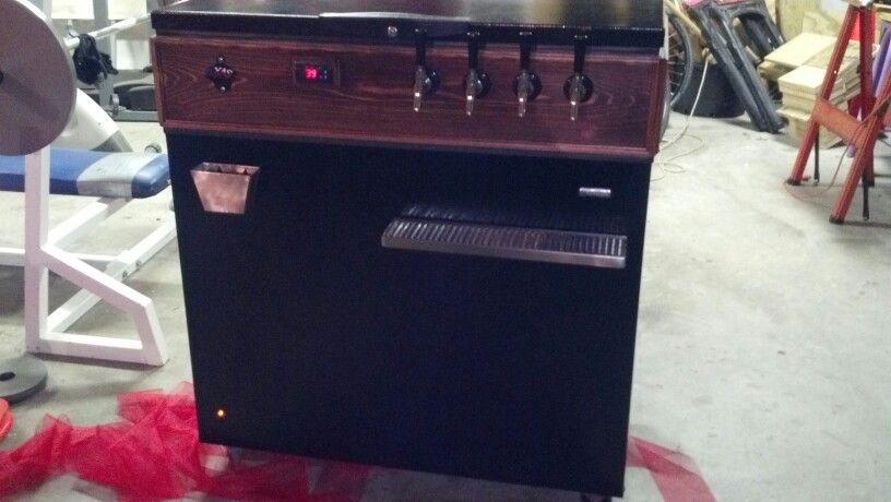 The Keezer I built for my Son