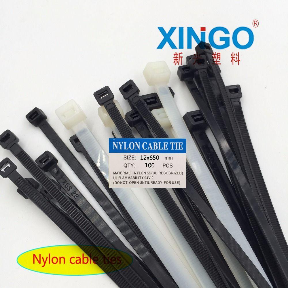 100Pcs/pack 12x650 12*650 High Quality width 12mm White Black Self ...