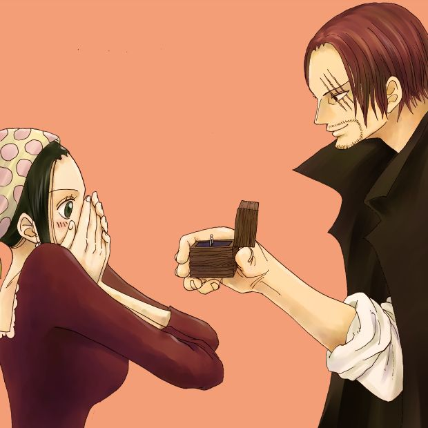Tags Anime One Piece Ring Shanks Pink Background Valentines