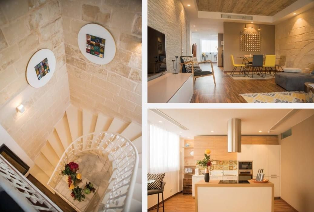 Valletta Penthouse 2 Bedroom With Roof Garden Enjoying Harbour Views Roof Garden Penthouse Residential