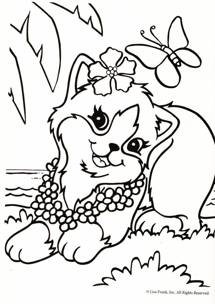 Lisa Frank Coloring Pages Lisa Frank Pinterest Lisa frank