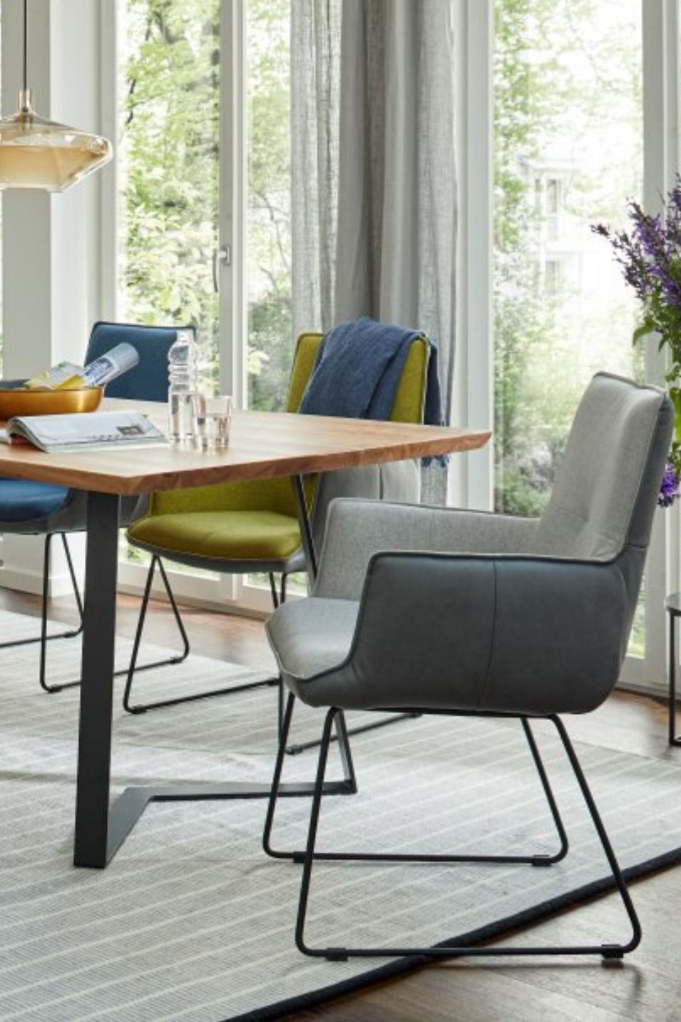 Esszimmer Sessel In Bi Color Optik Esszimmer Sessel Esszimmerstuhl Esszimmer