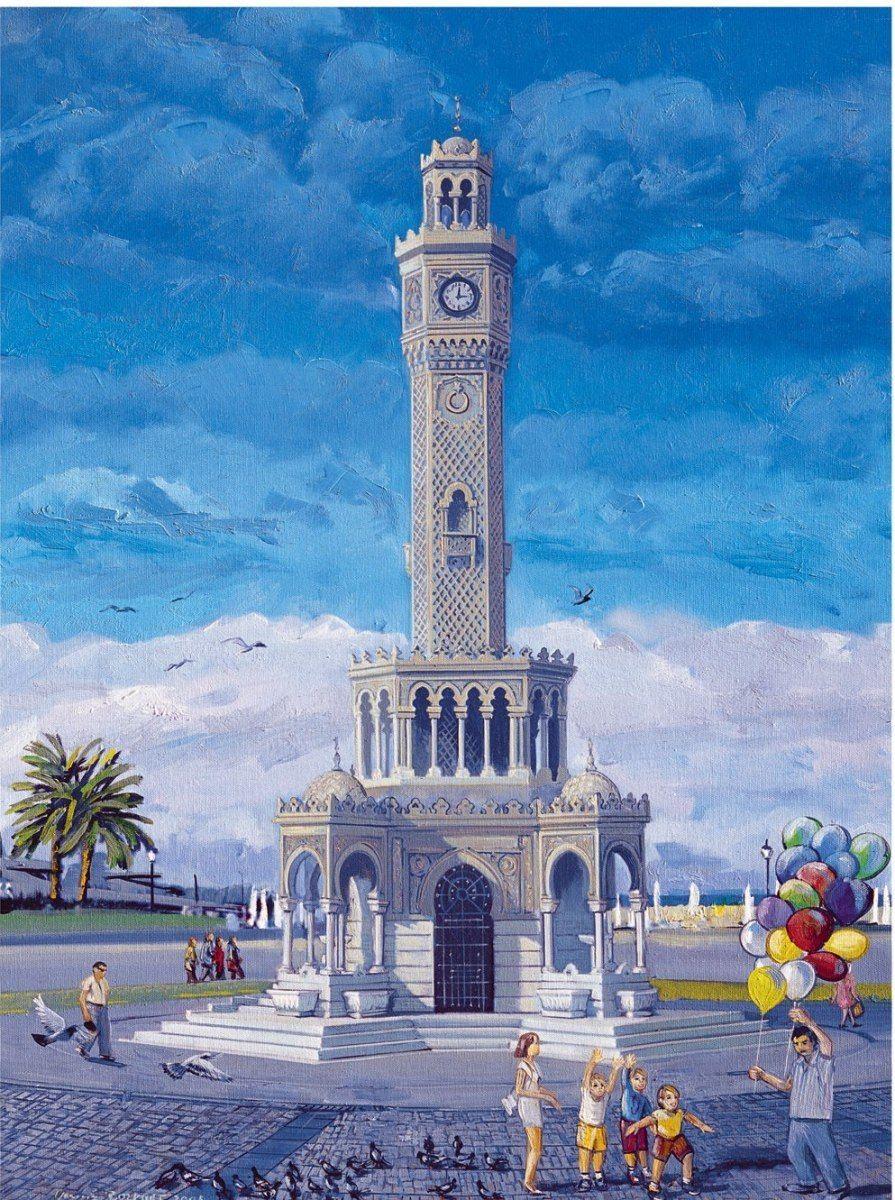 Eser Yavuz Bozkurt 1000 Prç Izmir Saat Kulesi Puzzle 2019