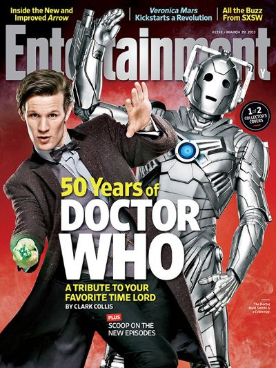 Doctor Who on the cover of Entertainment Weekly Magazine