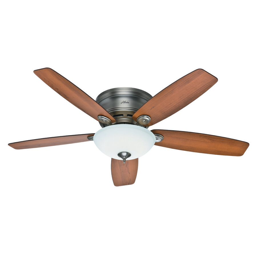 fan home low lights in control profile remote brushed with indoor fans the p nickel ceiling ceilings light dempsey led depot hunter