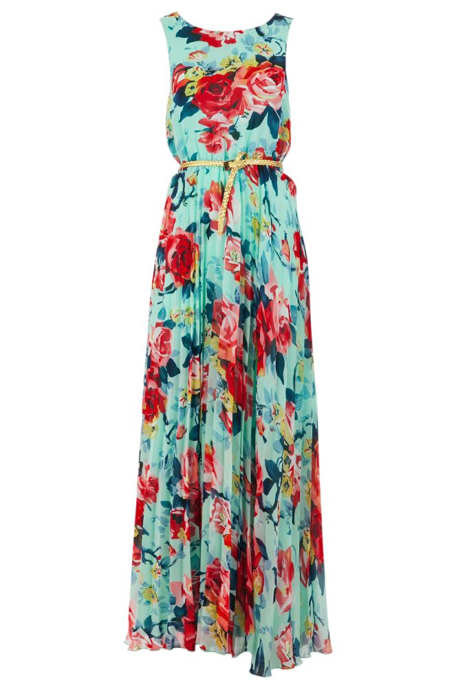 56f5438a27386 This extravagant maxi dress will really show off your feminine side with  its simple, flattering cut and bold floral print. [...]