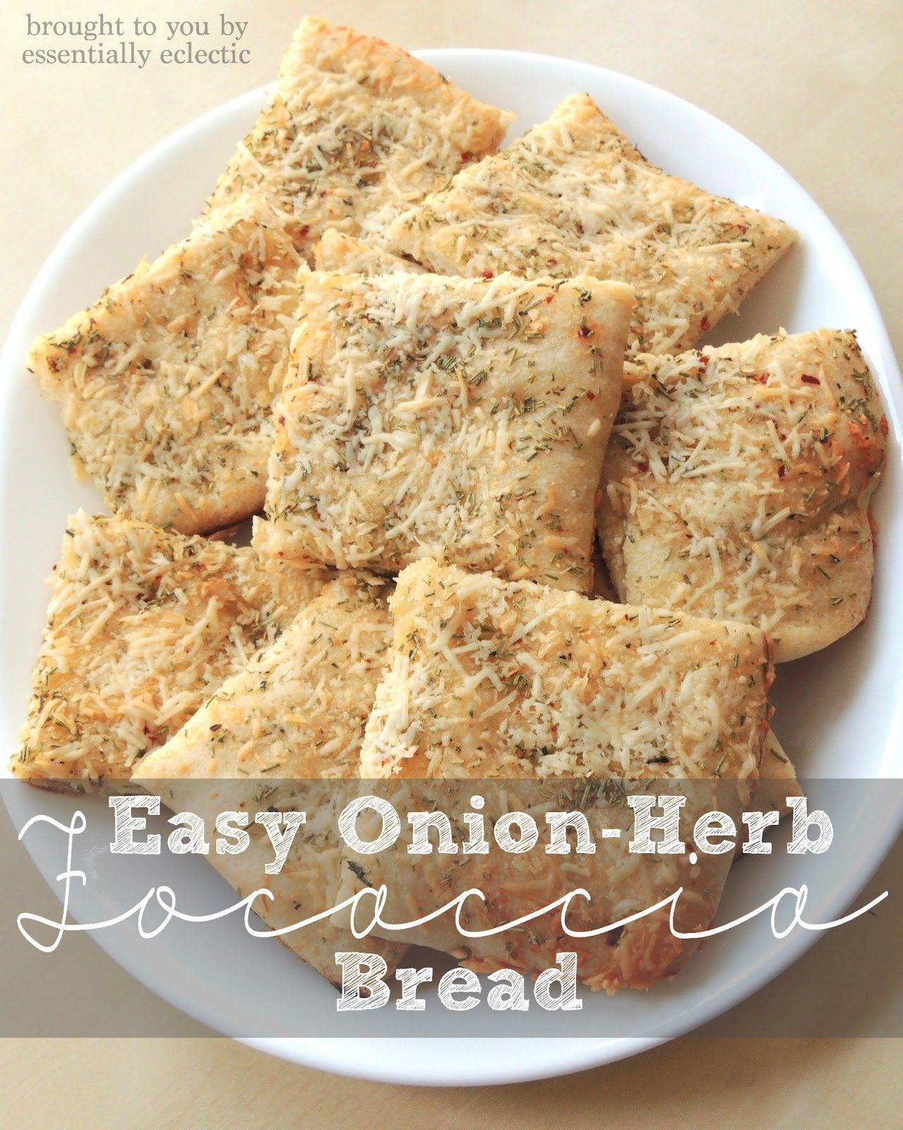 Easy Onion Herb Focaccia Bread Mom Makes Joy Recipe Focaccia Bread Focaccia Bread Calories