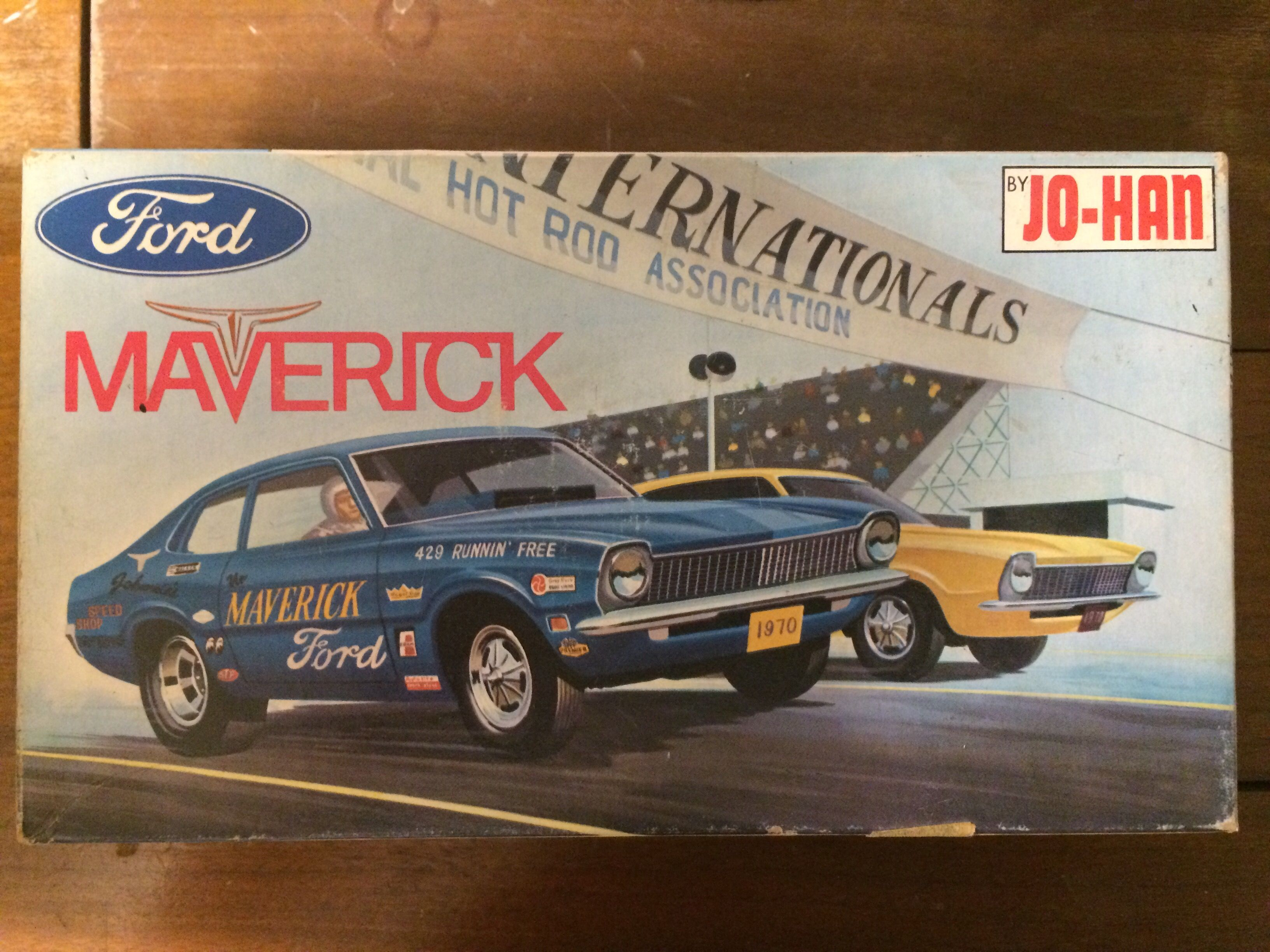 Johan Maverick Model Kit Plastic Model Kits Cars Model Kit