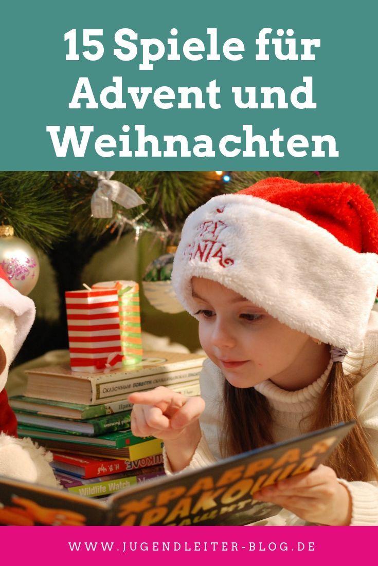Spiele Weihnachten Kindergarten