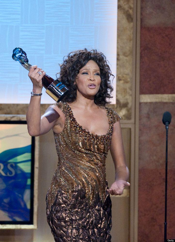 Whitney houston bet honors gift