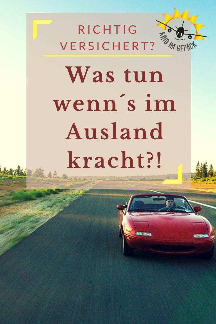Werbung: Was tun beim Autounfall auf Reisen?   Reisen ...