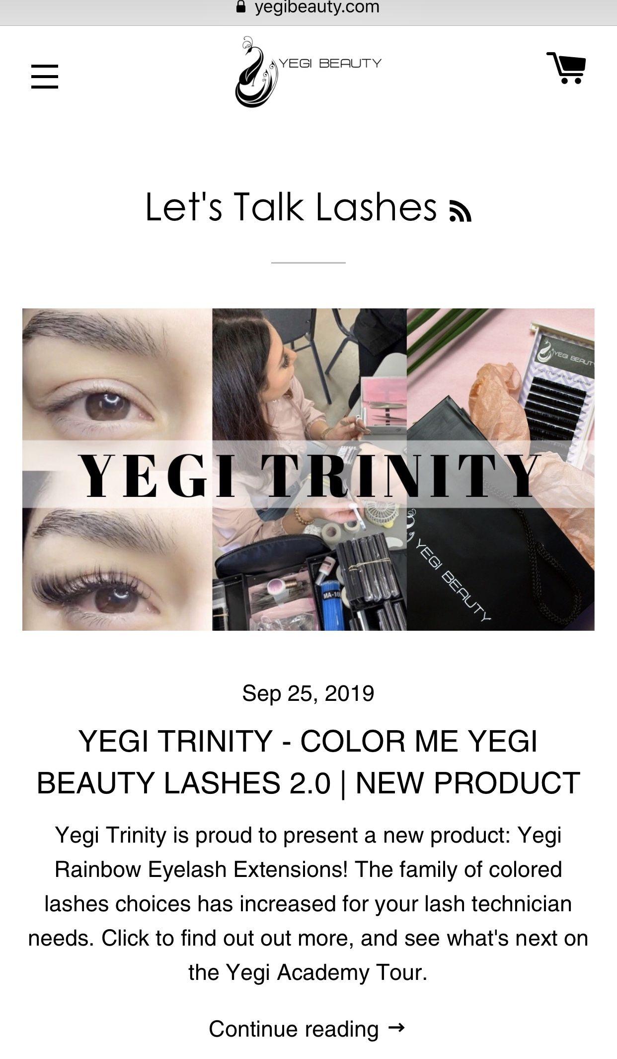 Color me yegi beauty lashes 20 eyelash extensions