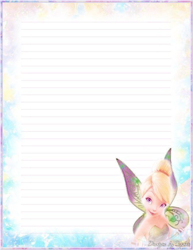 Printable Stationery Designs Sophia Designs PenPal Stationery - printable writing paper template