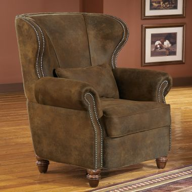 Winchester® Fireside Wing Chair with Pillow