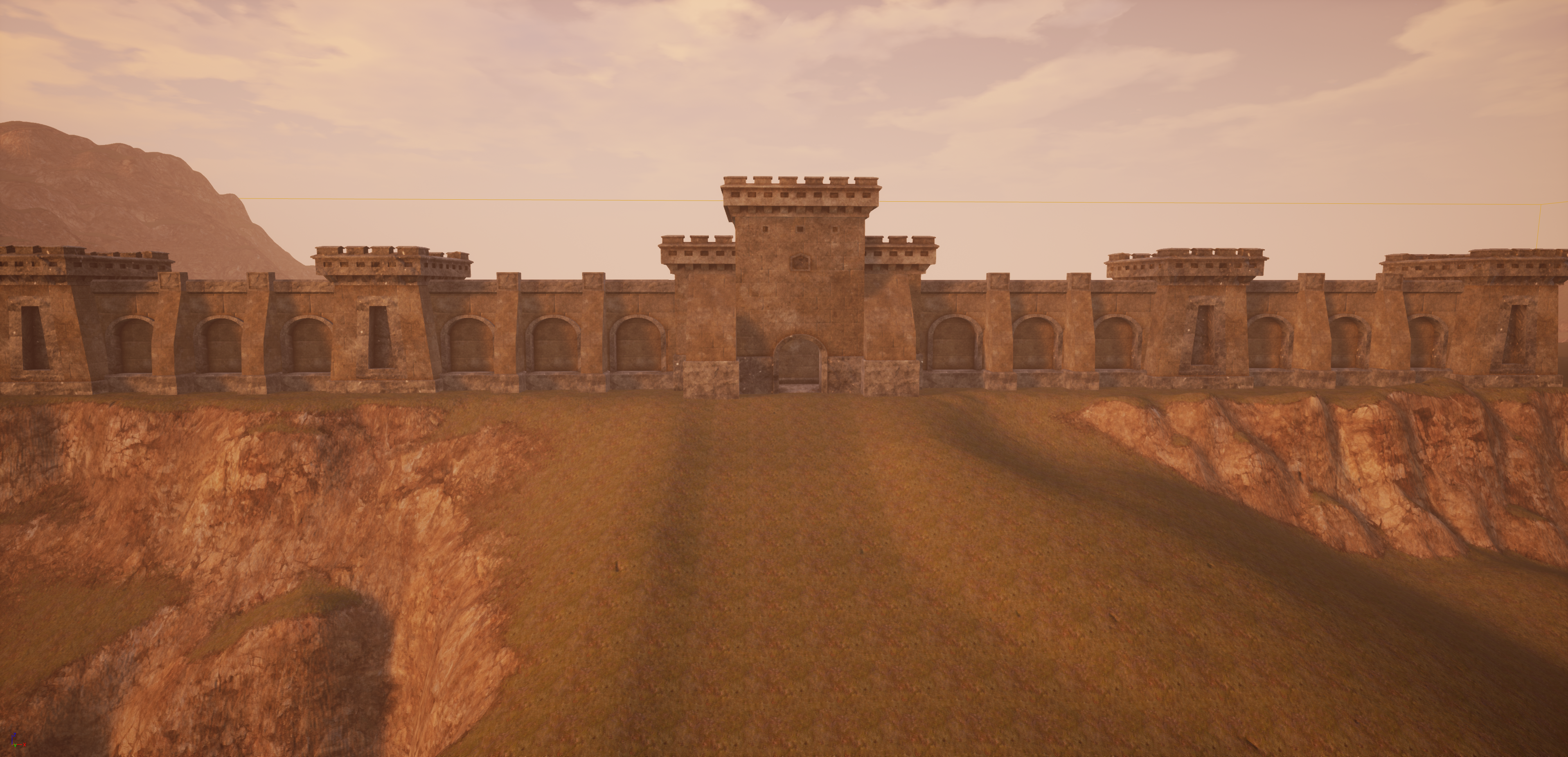 Unreal Engine Lordaeron Walls Bfa Cinematic Style Concept 1 Worldofwarcraft Blizzard Hearthstone Wow War World Of Warcraft Unreal Engine Natural Landmarks