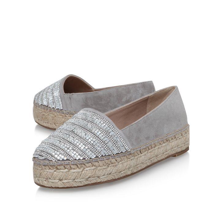 Misha Grey Espadrille Sandal By Kg Kurt Geiger Kurt