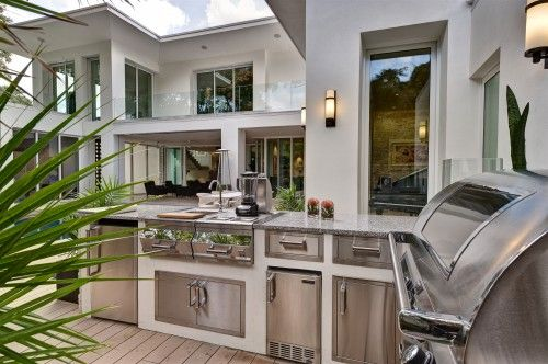 Kitchen Design Ideas Pictures Remodel And Decor Modern Outdoor Kitchen Outdoor Kitchen Design Contemporary Patio