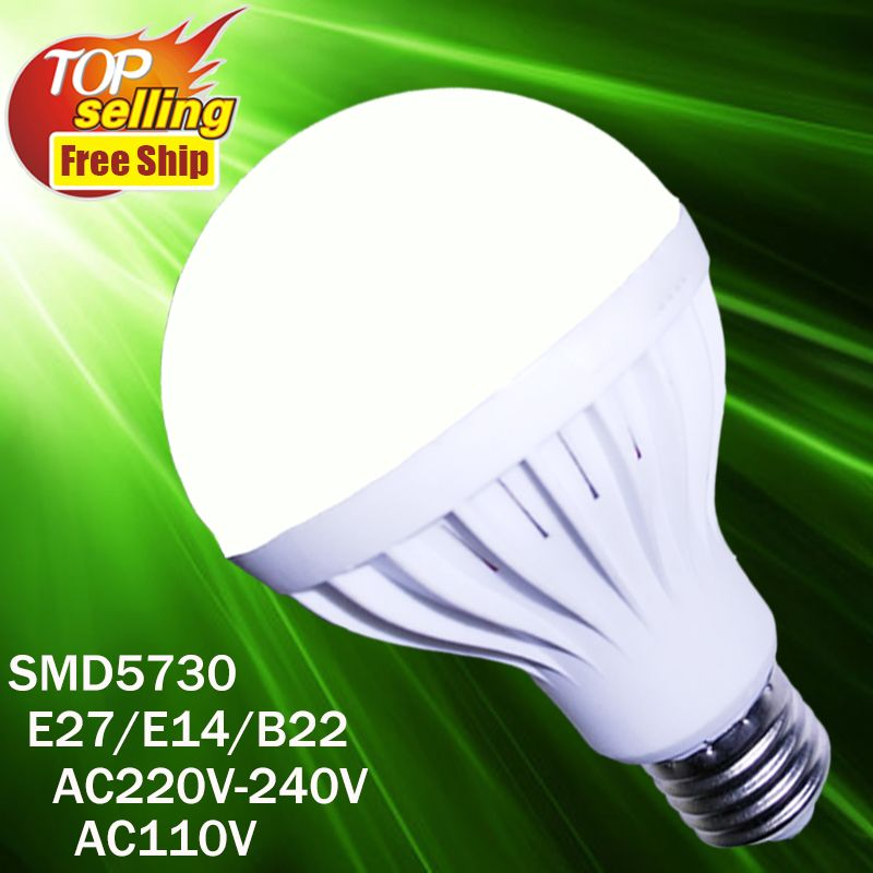 Wholesale Led Lamp E27 E14 3w 5w 7w 9w 12w Led Spotlight Lamps Lampara Bombilla Ampoule Smd5730 220v 110v Led Bulb Affiliat Led Bulb Led Candles Candle Bulbs