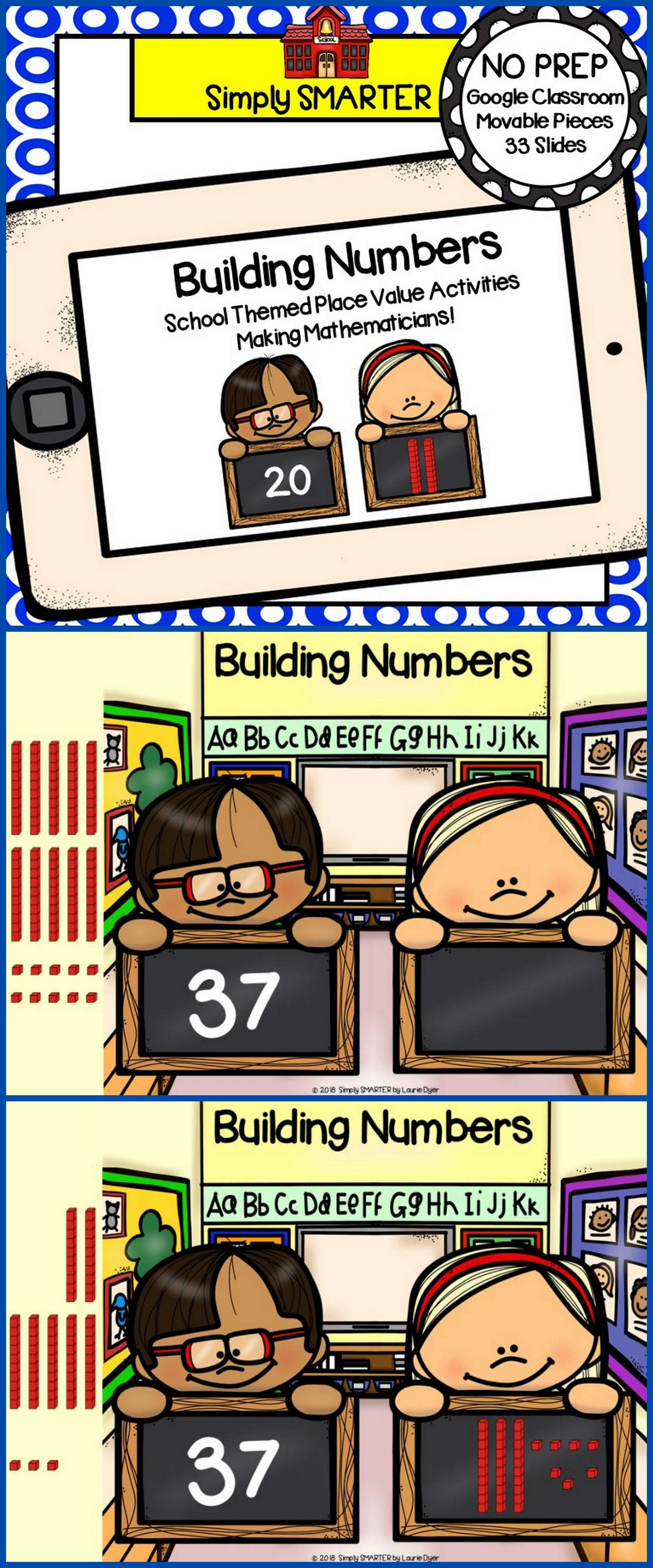 Building Numbers With Base Ten Blocks Activities For