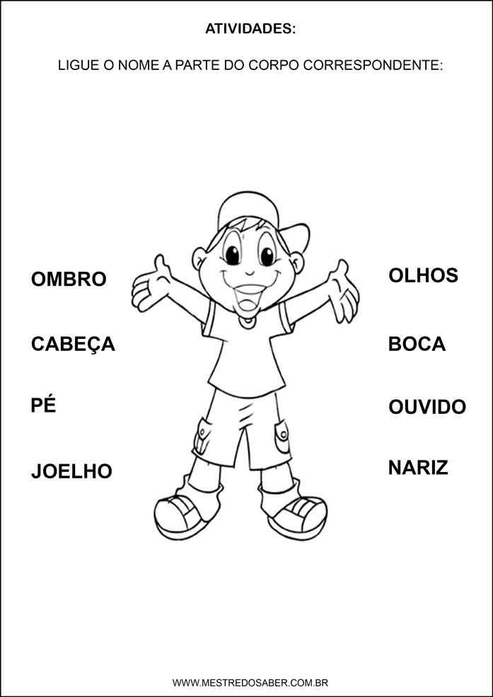 Esquema Corporal Na Educacao Infantil Educacao Infantil