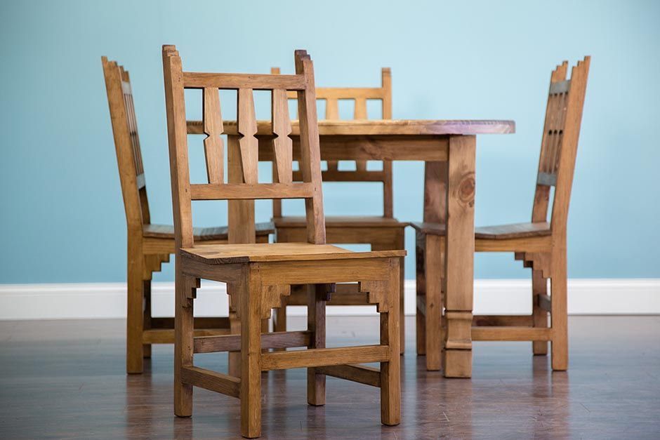 Fabulous Rustic Pine Table And Chairs Blog Dining Furniture Download Free Architecture Designs Jebrpmadebymaigaardcom