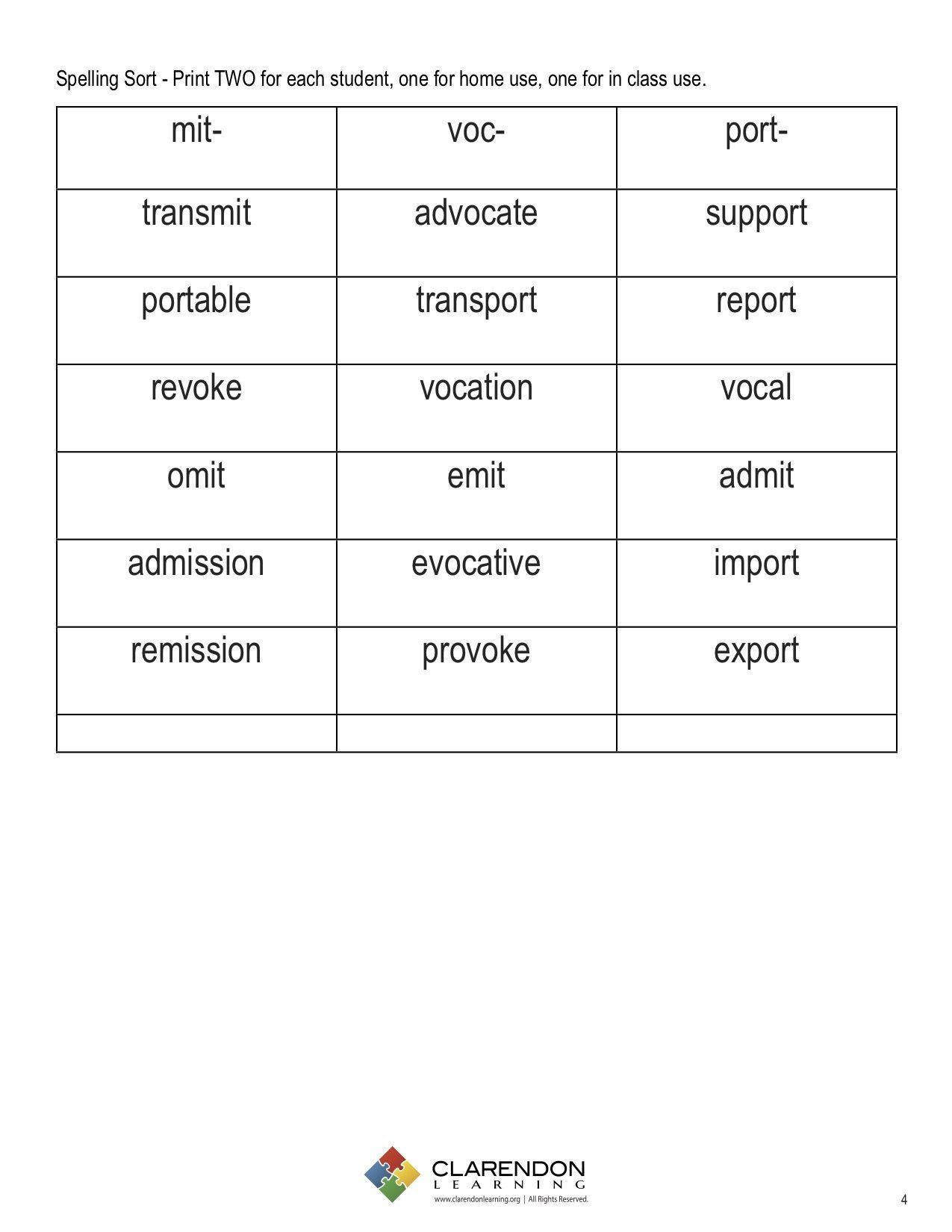 Latin Root Word Worksheet Latin Roots I Spelling Patterns