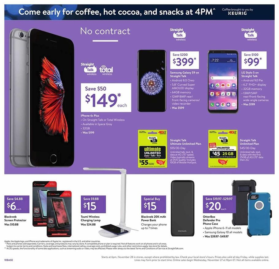 Walmart Black Friday Ad Scan Deals And Sales 2019 Walmart Black Friday Ad Black Friday Ads Walmart