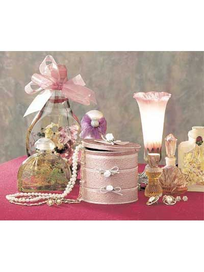 Crafts - Trinket Boxes - Victorian Vanity Box