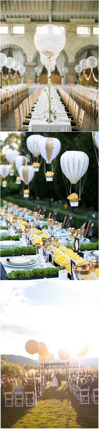 wedding decoration ideas with balloons