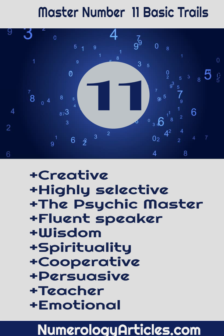 Master number 11 meaning powers destiny and career