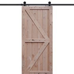 Double Z Two Panel Barn Door Rustic Barn Door Barn Style Doors Barn Door