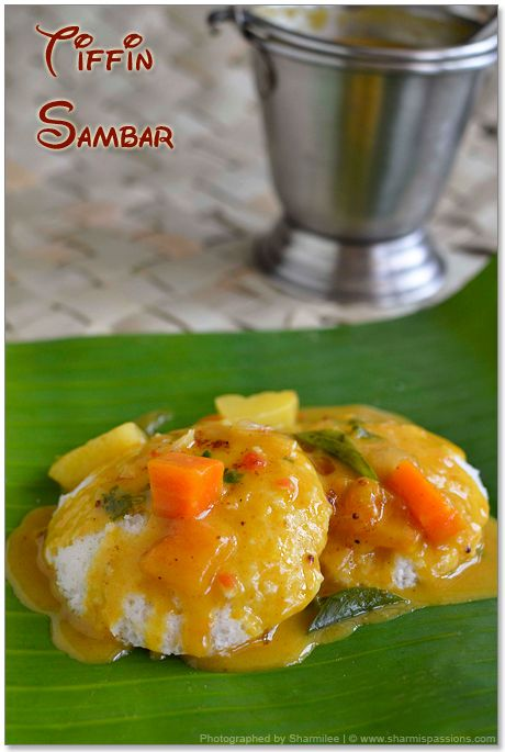 Tiffin sambar recipe hotel style tiffin sambar recipes veg food forumfinder Gallery
