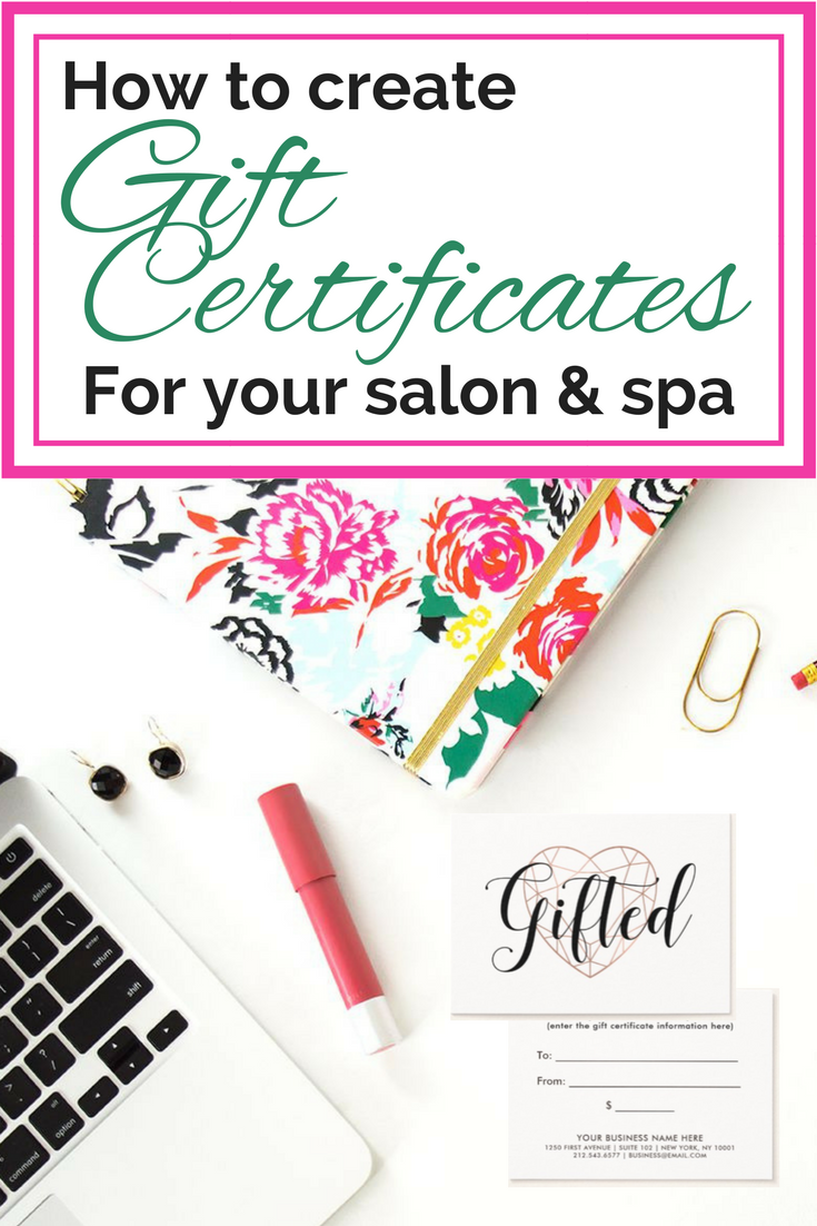 why you need to sell more gift certificates at your salon or spa
