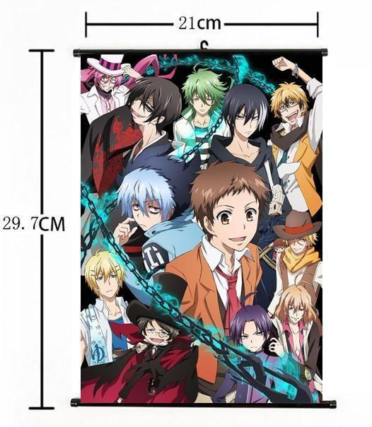 "Hot Japan Anime SERVAMP Sleepy Ash Poster Wall Scroll Home Decor 8/""×12/"" 01"