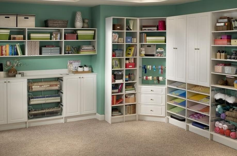Cheap Craft Room Storage and Organization Furniture Ideas 32 images