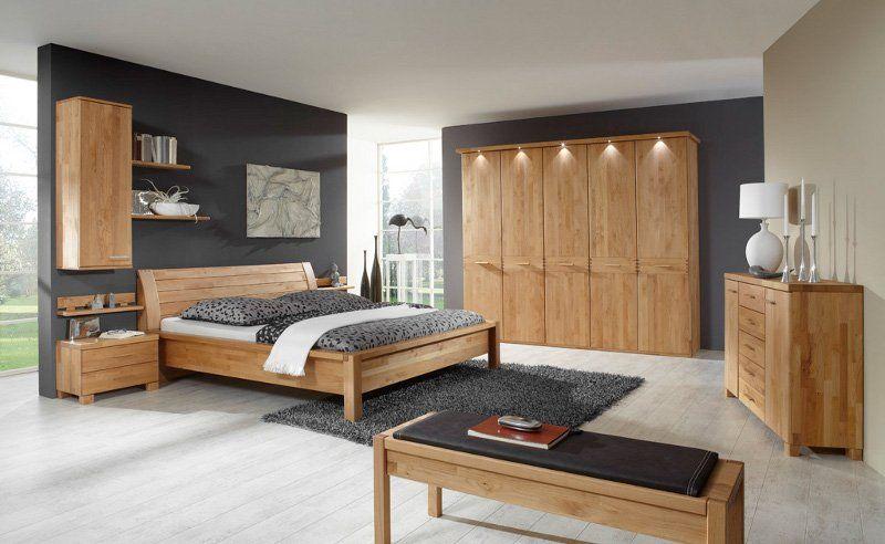 Schön schlafzimmer komplett eiche massiv in 2020