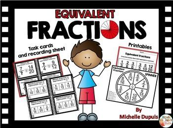 Equivalent Fractions can be a difficult math concept to master for ...